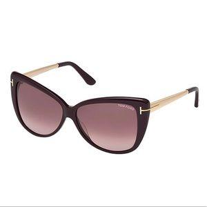 Tom Ford Violet Cat Eye Sunglasses